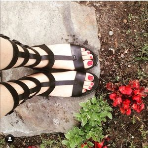 Leather Zara sandals